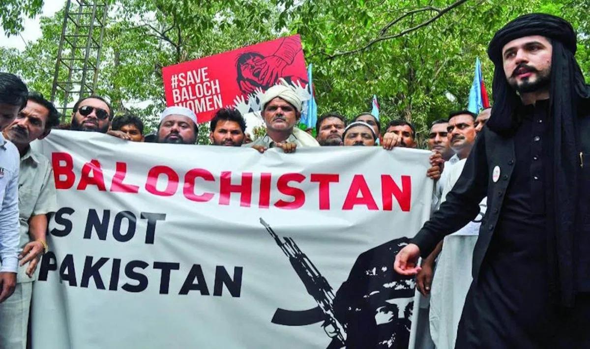 Phong trào ly khai Balochistan. Ảnh: AFP.