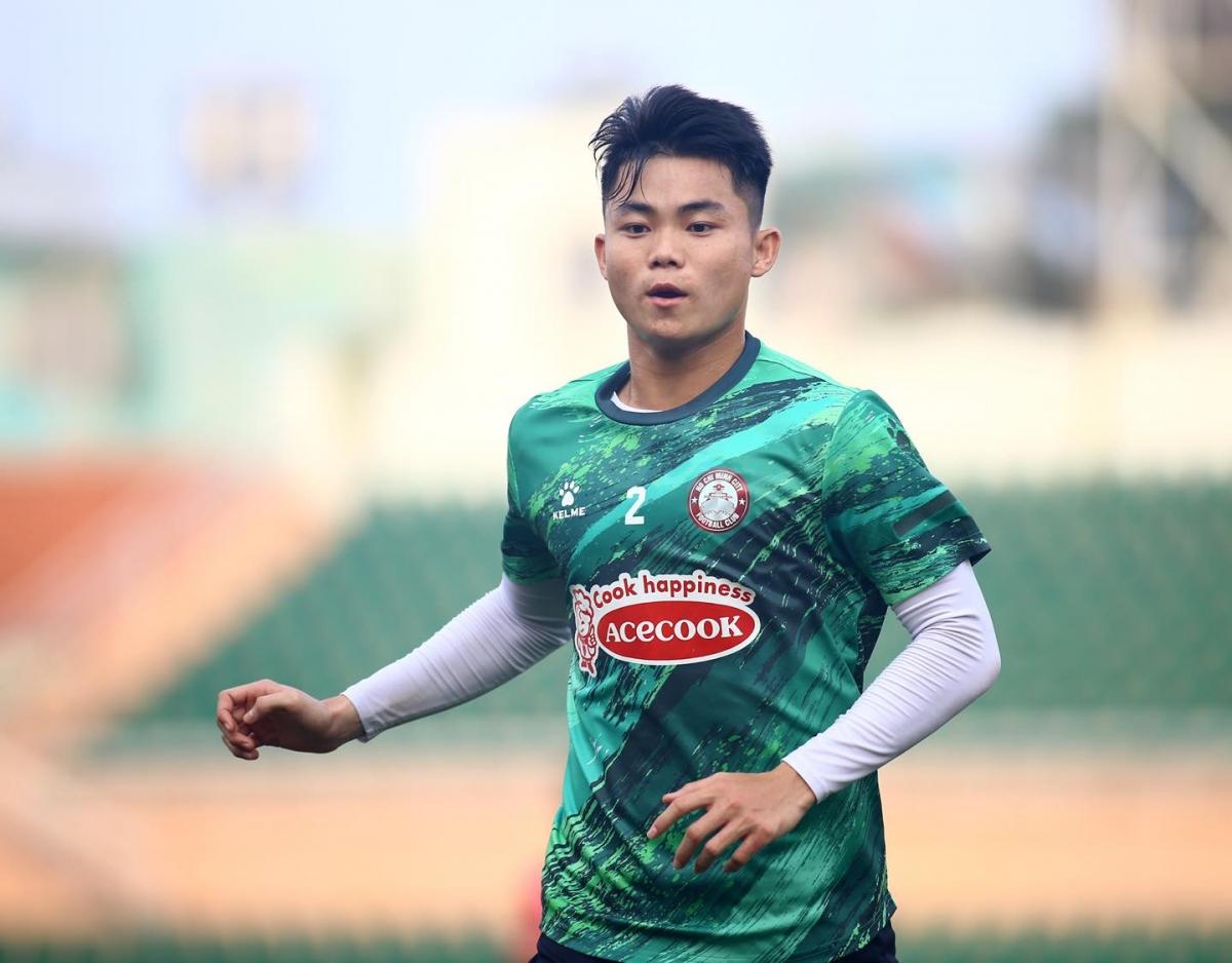 Hậu vệ phải: Ngô Tùng Quốc - Tuyển thủ U23 Việt Nam dưới thời HLV Park Hang Seo