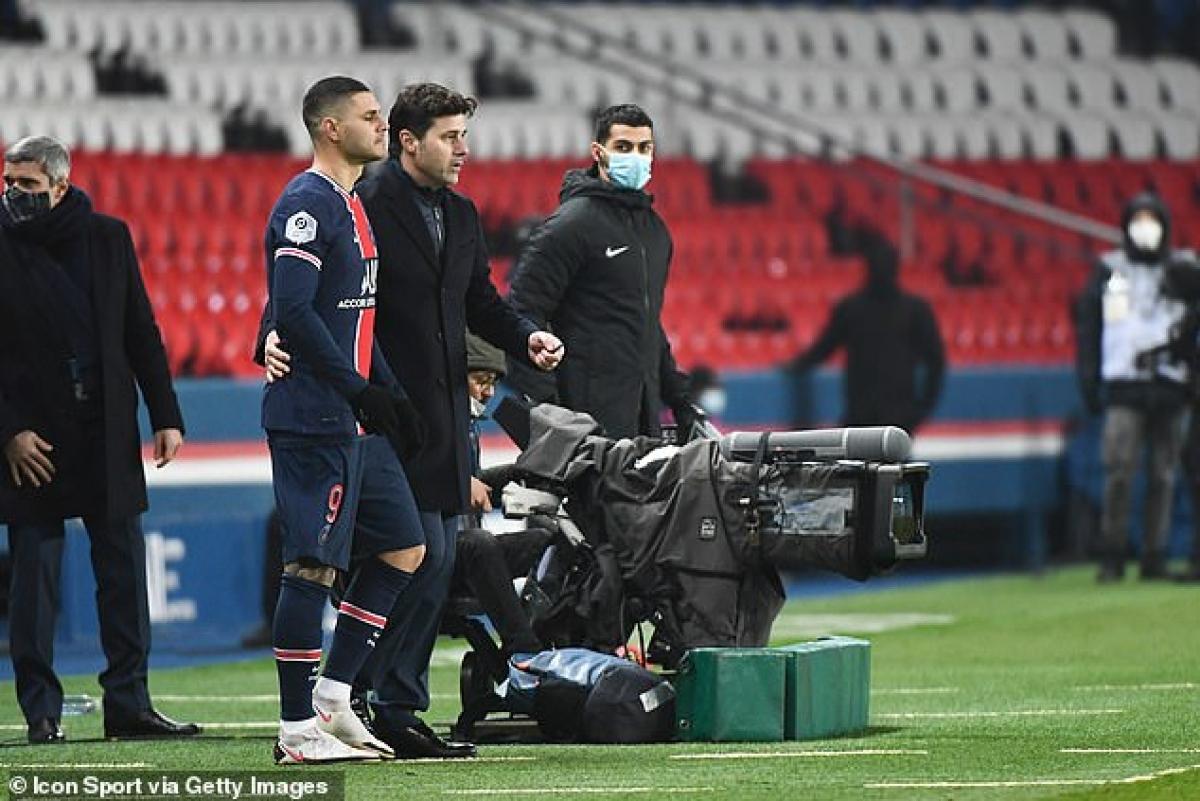 HLV Mauricio Pochettino chứng tỏ khả năng thay người mát tay khi Mauro Icardi vào sân thế chỗ Moise Kean trong hiệp 2 và ghi bàn nhân đôi cách biệt ở phút 81.