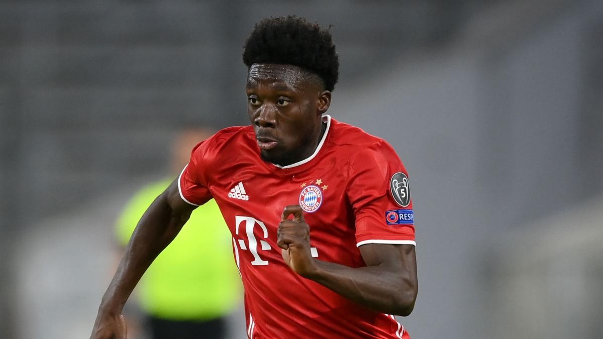 Hậu vệ tráiAlphonso Davies (Bayern)
