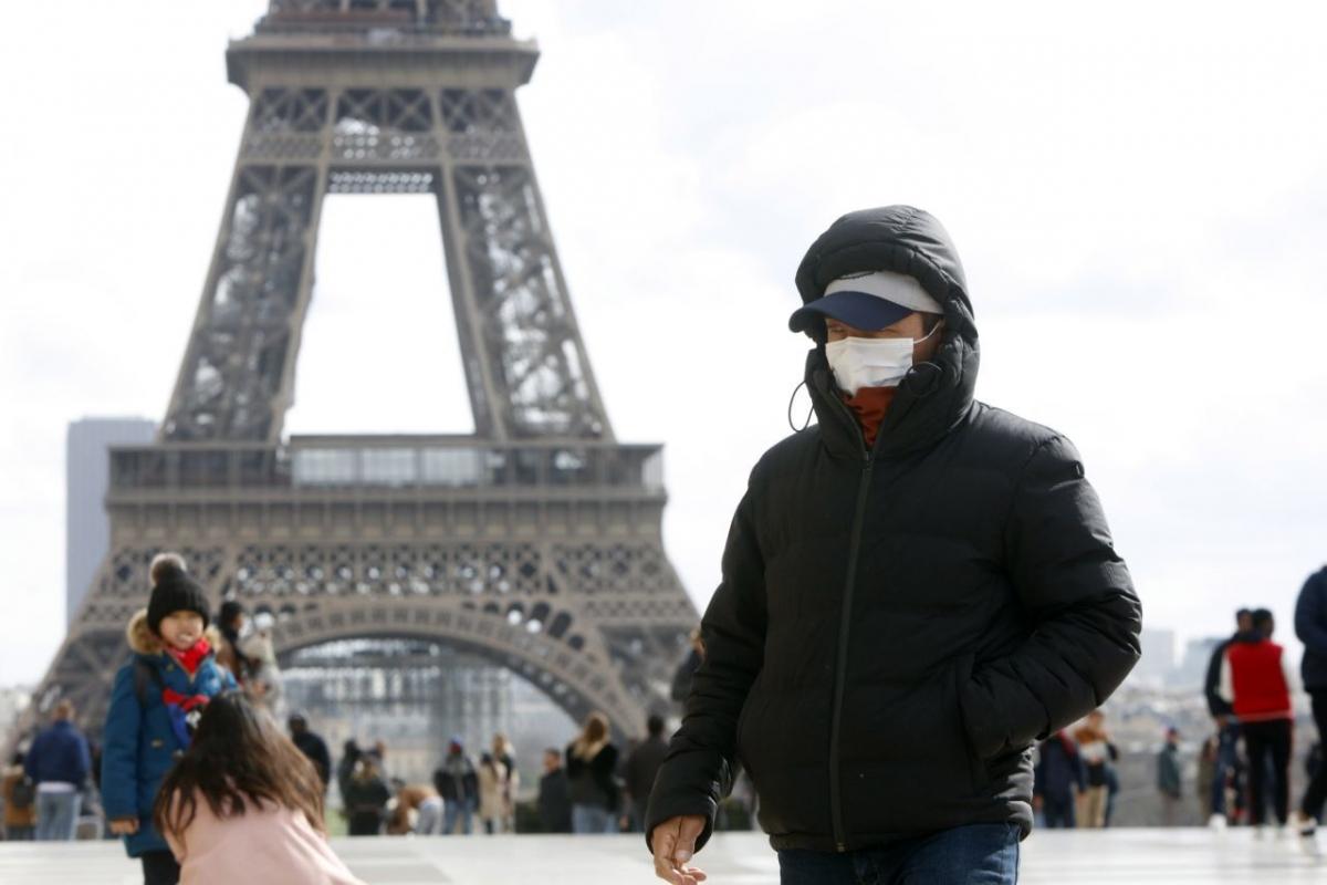 Pháp đang phải chịu thiệt hại nặng nề bởi dịch bệnh Covid-19. (Nguồn: AFP)