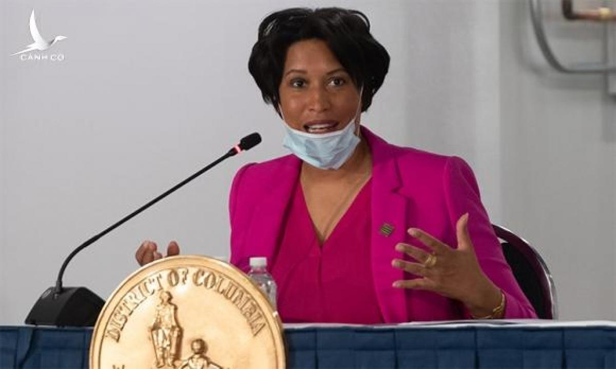 Thị trưởng Muriel Bowser. Ảnh: AFP.
