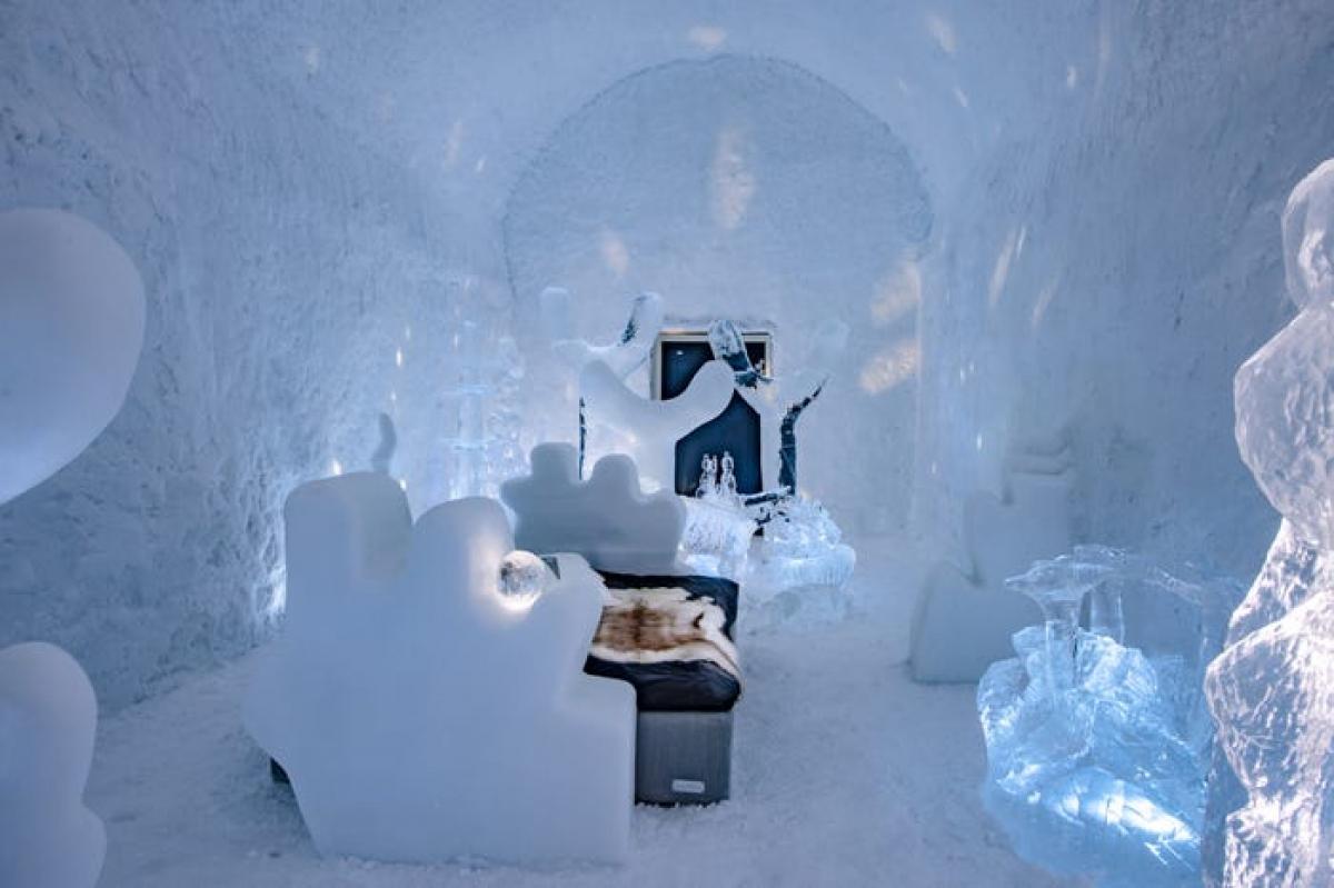 Phòng Kodex Maximus quanh năm duy trì nhiệt độ -3 độ C, được thiết kế để du khách có những trải nghiệm kỳ quái, khác lạ. Căn phòng sử dụng hoàn toàn vật liệu thân thiện với môi trường, băng tuyết được lấy từ sông Torne và các khu vực xung quanh.