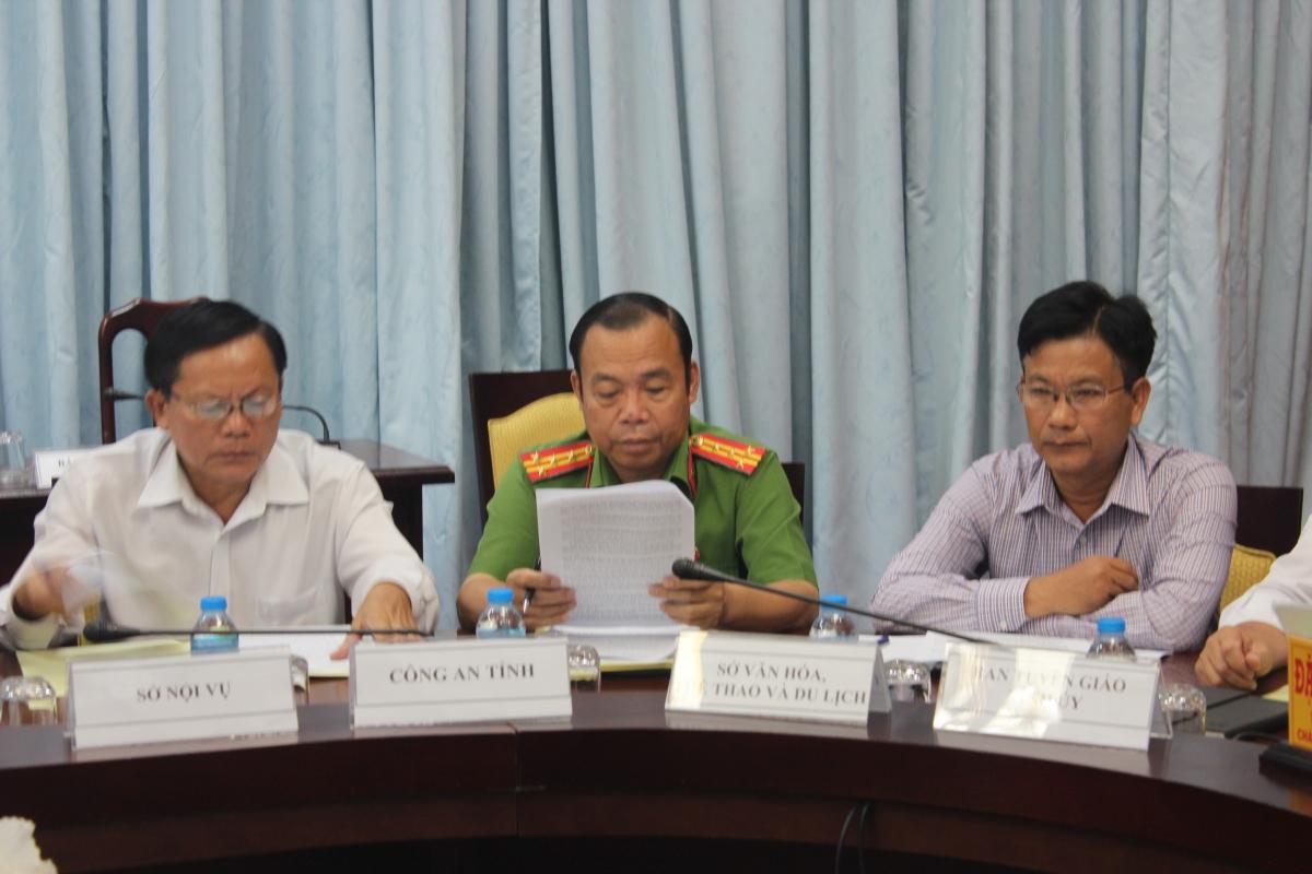 Đại tá Huỳnh Thanh Mộng, Phó Giám đốc - Thủ trưởng Cơ quan CSĐT Công an tỉnh Vĩnh Long