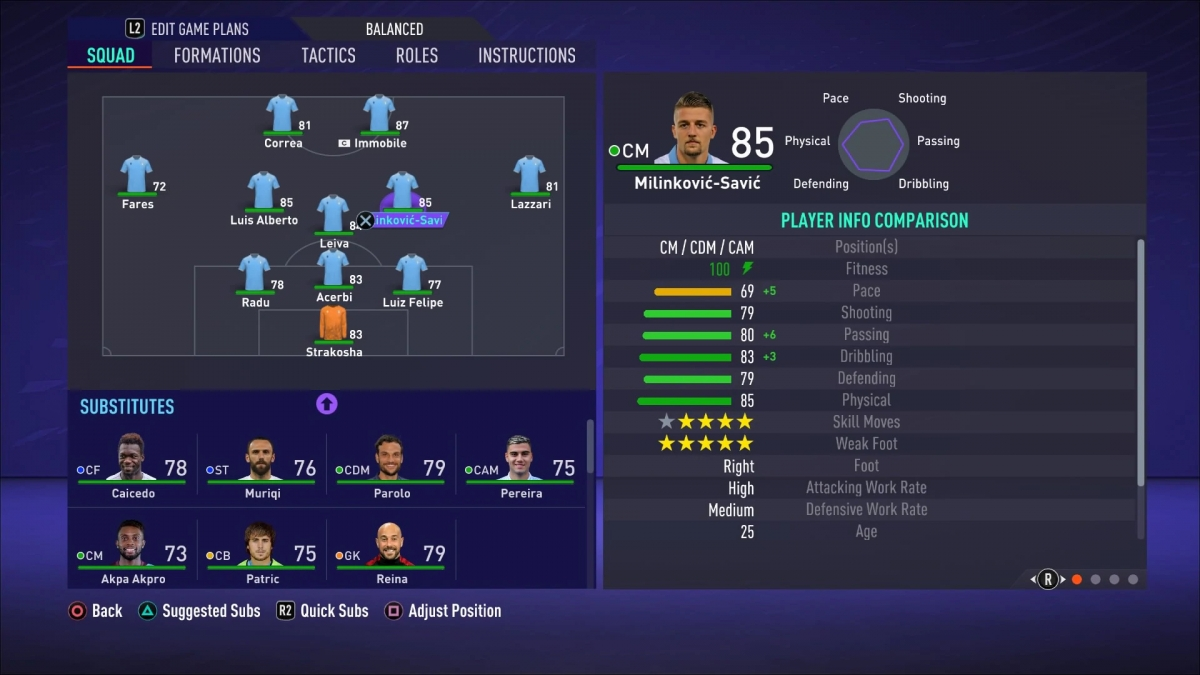 7. Lazio