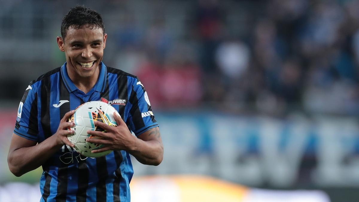 8. Luis Muriel (Atalanta) 8 bàn thắng, 2 kiến tạo.