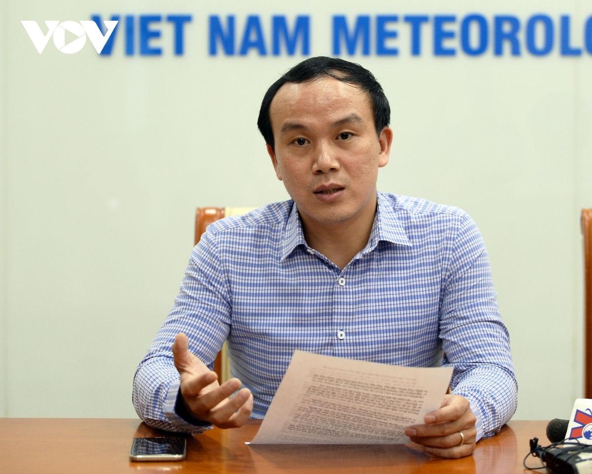 Ông Hoàng Phúc Lâm – Phó Giám đốc Trung tâm Dự báo KTTV Quốc gia