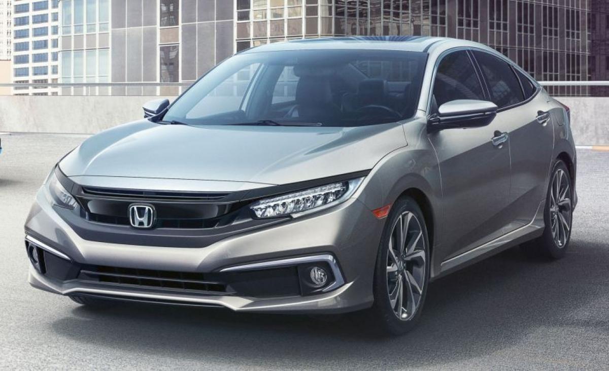 8. Honda Civic - 261.225 chiếc (giảm 20% so với năm 2019)