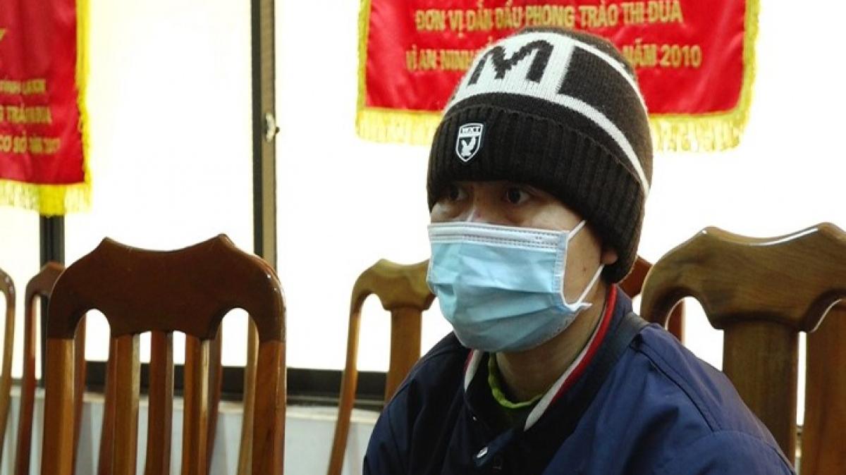 Đối tượng Nguyễn Thị Ngọc Điệp tại cơ quan điều tra.