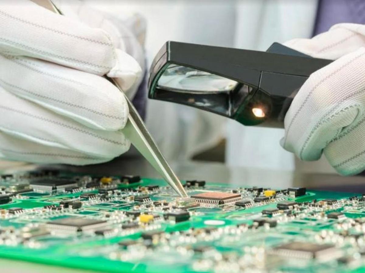 Trung Quốc đẩy mạnh sản xuất vi mạch tích hợp trong năm 2020 - Ảnh chụp màn hình South China Morning Post
