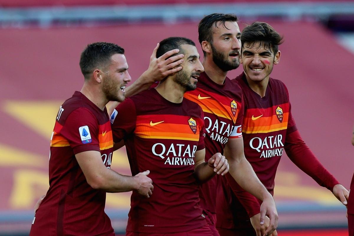 9. Henrikh Mkhitaryan (Roma) 7 bàn thắng, 6 kiến tạo.