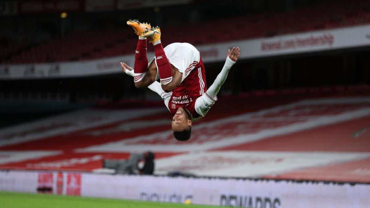 Tiền vệ trái: Pierre-Emerick Aubameyang (Arsenal)