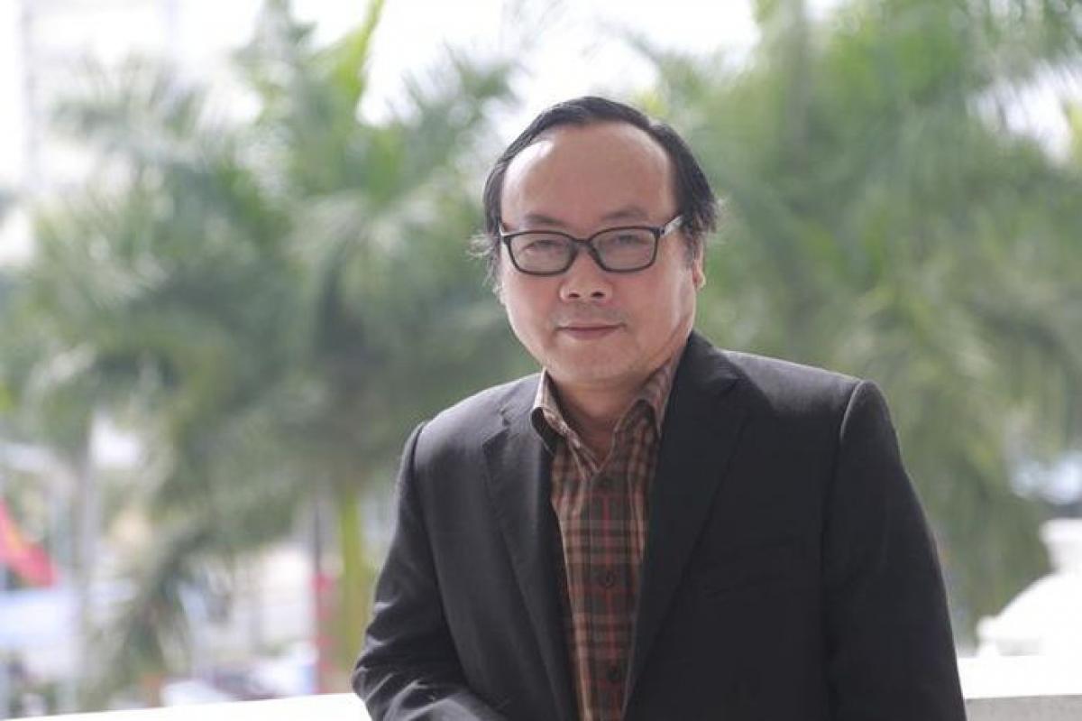 Nhà thơ Trần Gia Thái, Chủ tịch Hội Nhà văn Hà Nội.