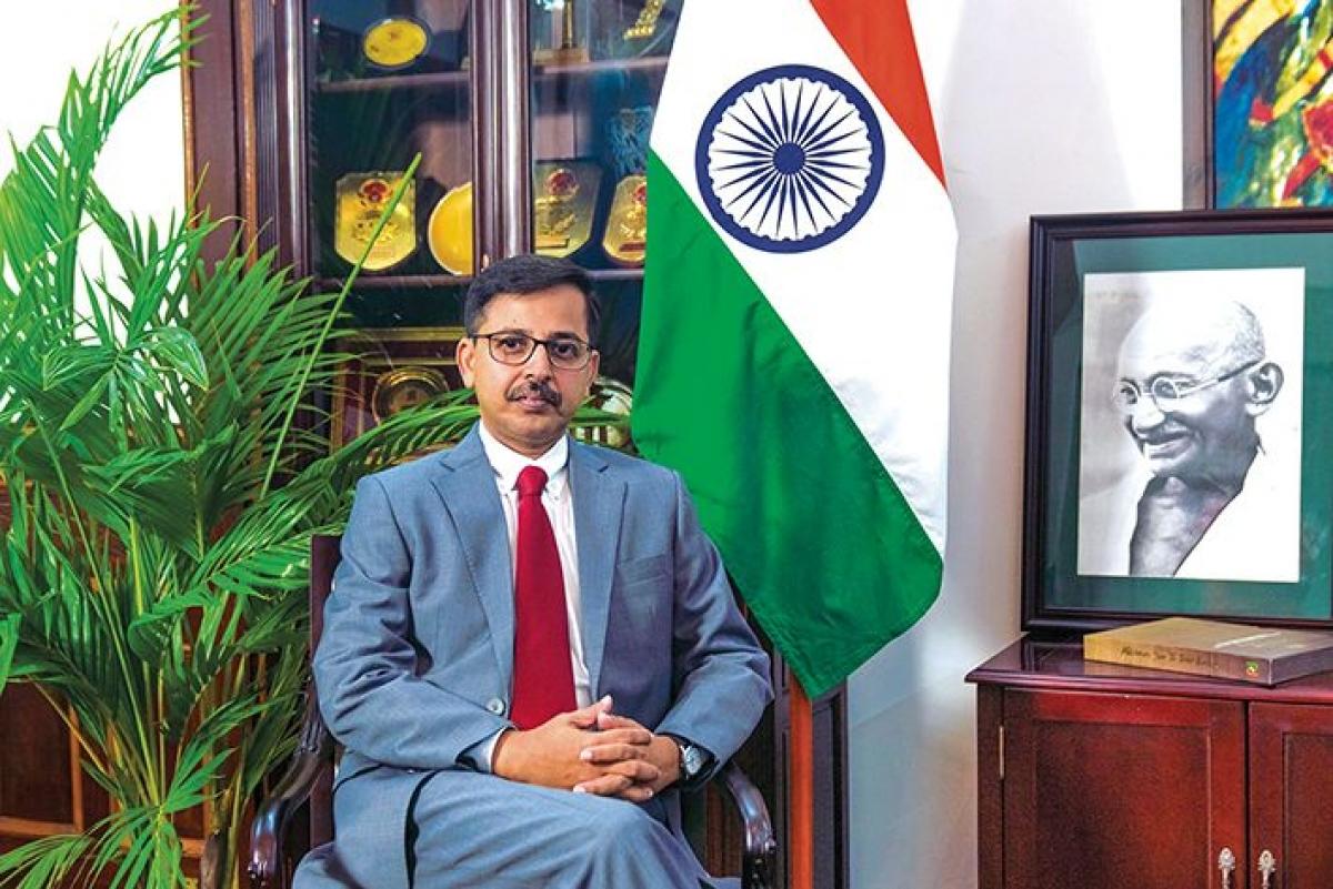 Đại sứ Ấn Độ tại Việt Nam Pranay Verma. (Ảnh: Báo quốc tế)