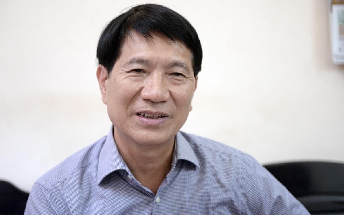 PGS.TS Ngô Thành Can, Phó Trưởng khoa Tổ chức và Quản lý nhân sự, Học viện Hành chính Quốc gia (Ảnh: Bình Minh)
