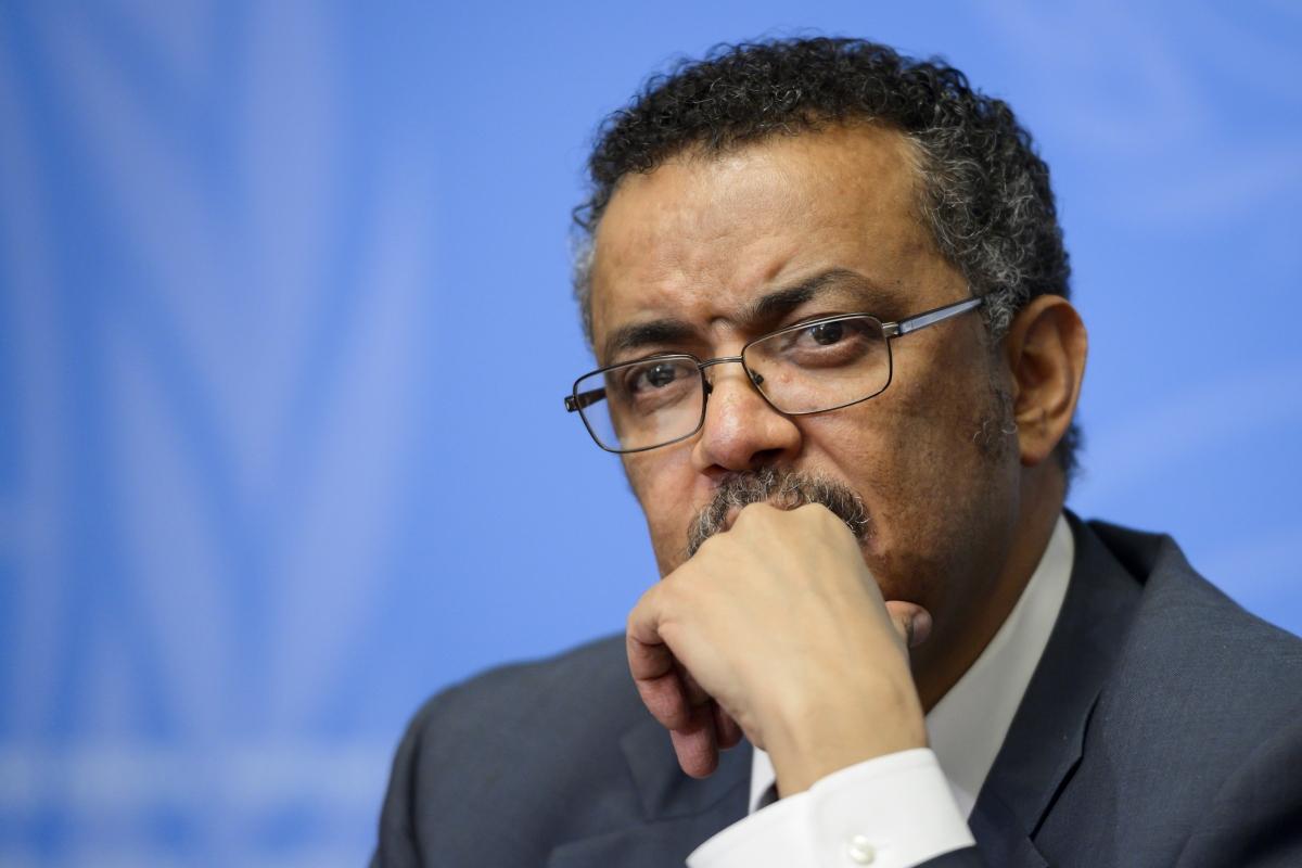 Người đứng đầu Tổ chức Y tế Thế giới (WHO)Tedros Adhanom Ghebreyesus. Ảnh: Getty