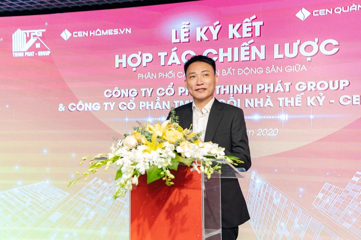 Ông Nguyễn Mạnh Hải - Chủ tịch Hội đồng Quản trị, Tổng Giám đốc Thịnh Phát Group.