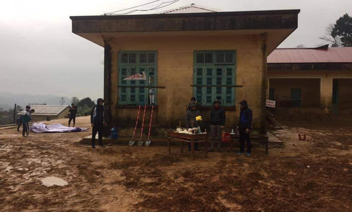 Khởi công xây dựng 6 phòng bán trú cho học sinh dân tộc nội trú ở xã Húc