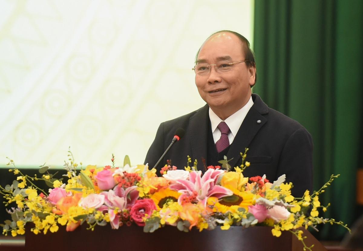 Thủ tướng đề nghị ngành tài chính thực hiện 9 nhiệm vụ trọng tâm trong năm 2021. (Ảnh: VGP)