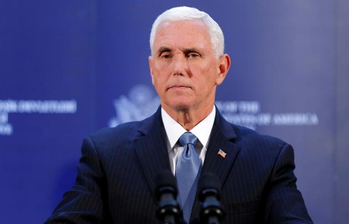Phó Tổng thống Mike Pence. Ảnh: Reuters