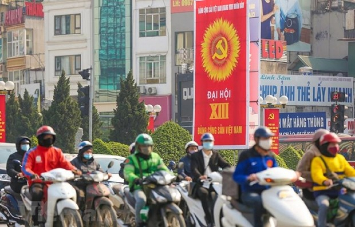 The13th National Congressof the Communist Party of Vietnam is scheduled to take place from January 25 to February 2 (Photo: VNA)
