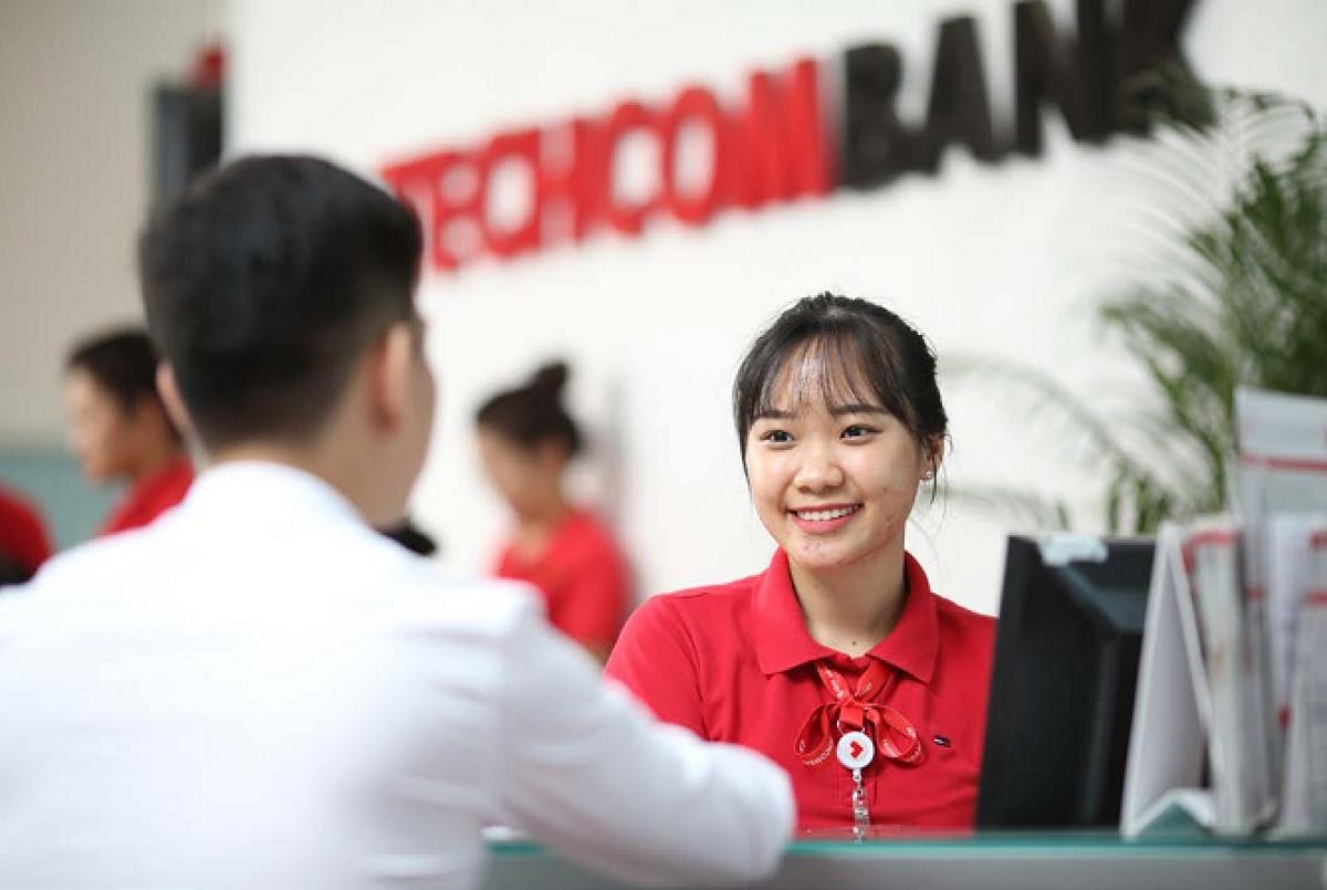 Techcombank công bố kết quả kinh doanh năm 2020.