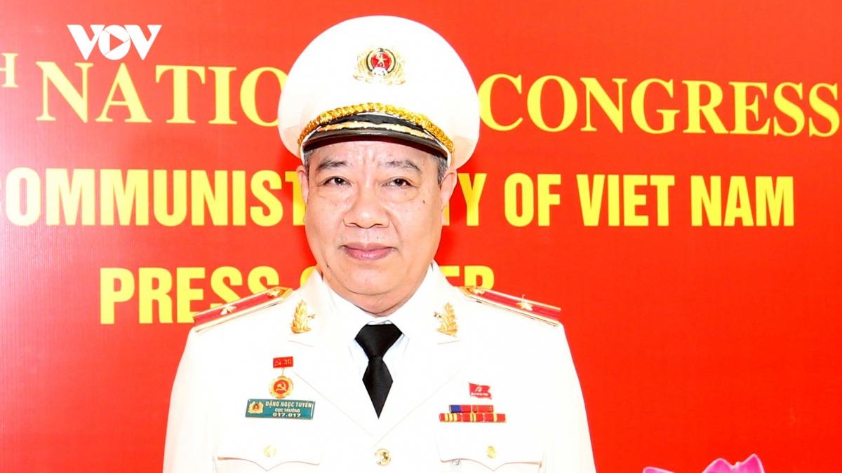 Thiếu tướng Đặng Ngọc Tuyến – Cục trưởng Cục An ninh chính trị nội bộ