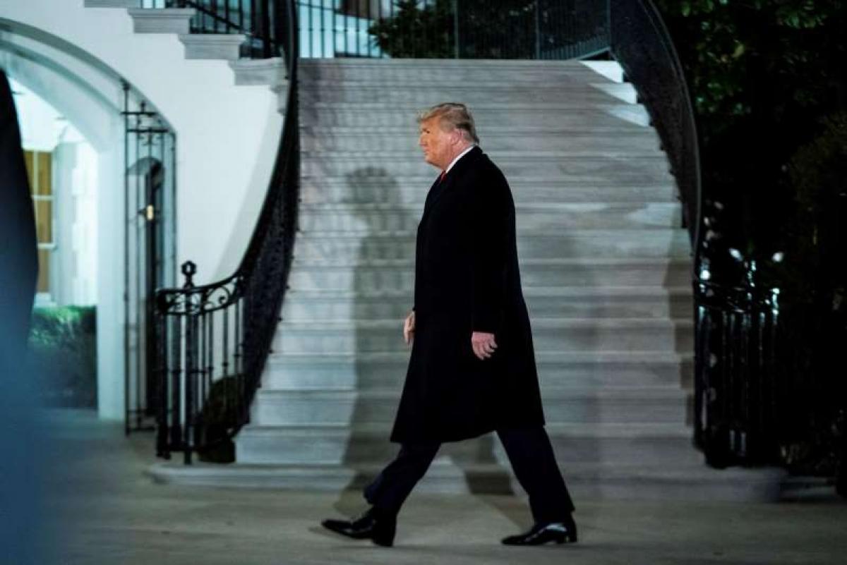 Tổng thống Trump. Ảnh: Washington Post