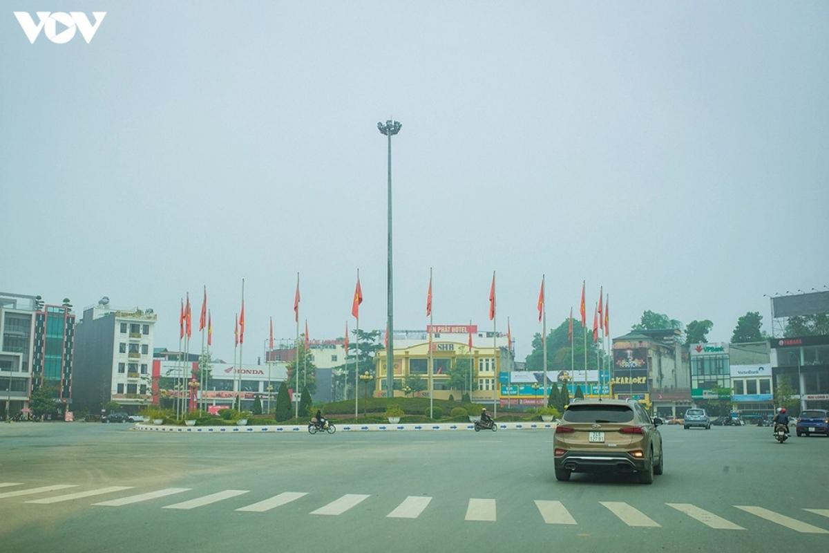 Khu vực ngã 6 - thành phố Lào Cai