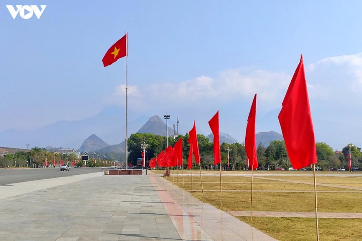 Quảng trường thành phố Sơn La khang trang, sạch đẹp