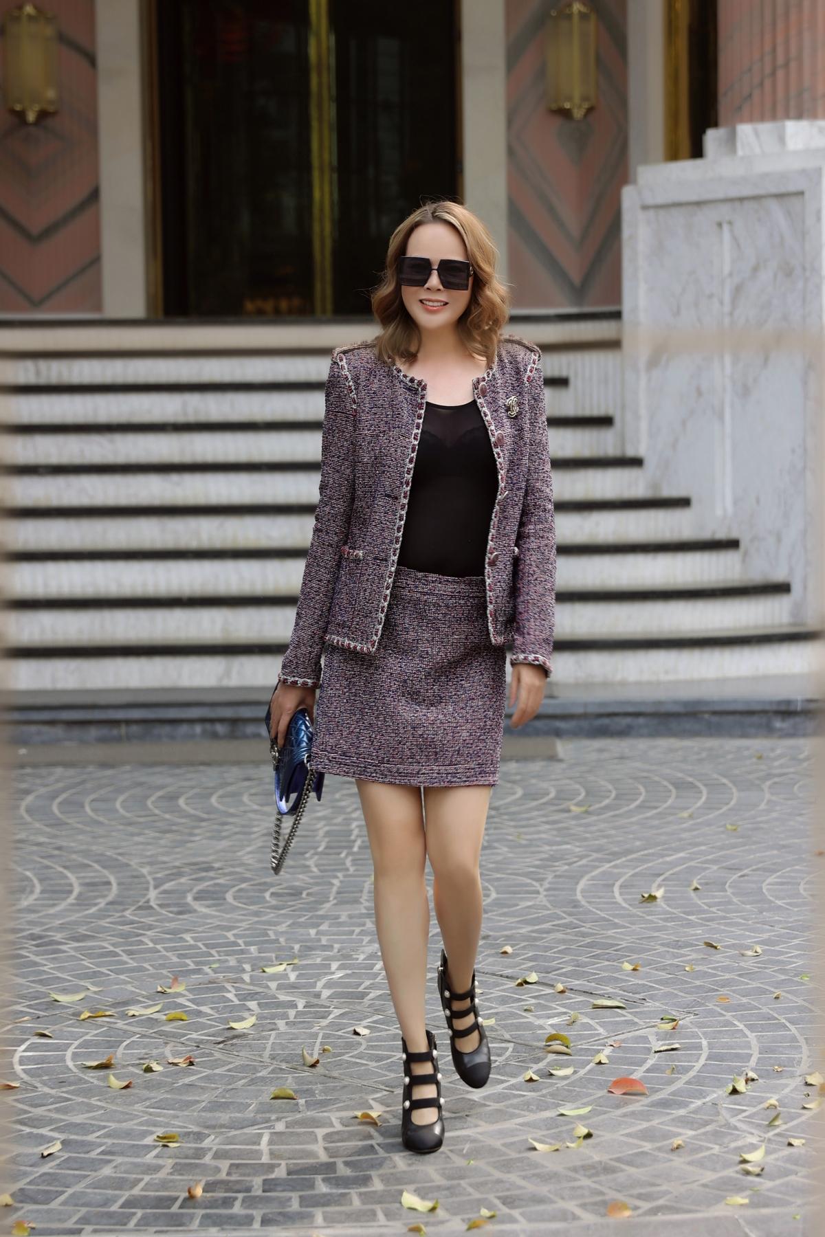 Trần Hiền cho biết, chị chọn đủ loại trang phục và đa dạng để phù hợp với mọi thời tiết, mọi hoàn cảnh.