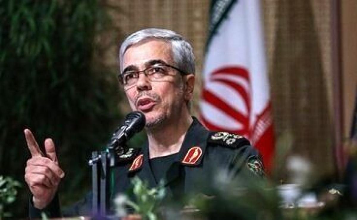 Tổng tham mưu trưởng Các lực lượng vũ trang Iran, Thiếu tướng Muhammad Bagheri Iran sẵn sang đối mặt với mọi mối đe dọa - Ảnh IRNA.