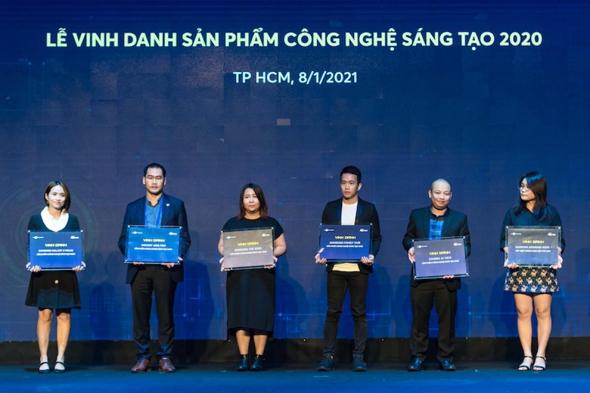 Vsmart được vinh danh là thương hiệu điện thoại Việt xuất sắc nhất tại Tech Awards 2020