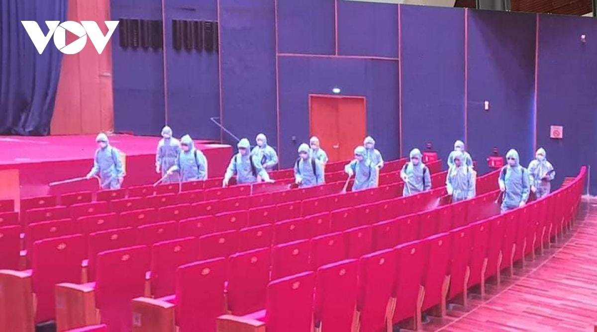 Diễn tập công tác y tế phục vụ Đại hội Đảng lần thứ XIII