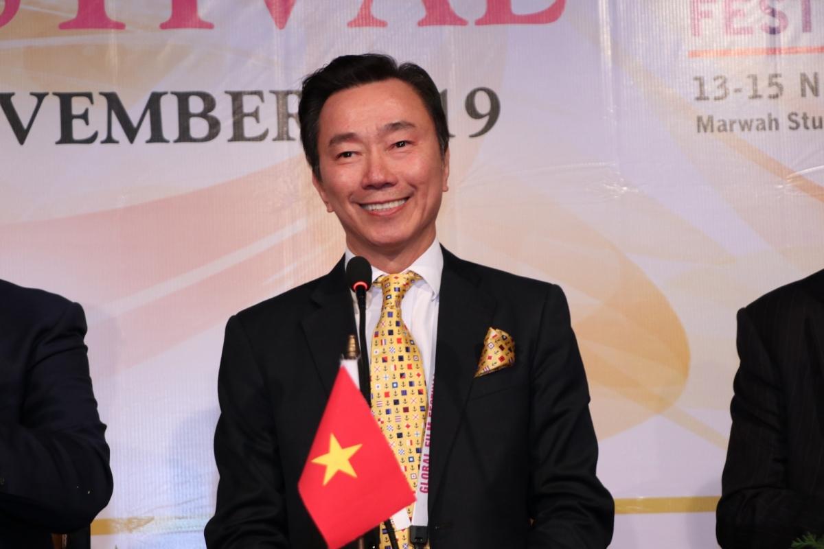 Đại sứ đặc mệnh toàn quyền nước CHXHCN Việt Nam tại Cộng hòa Ấn Độ Phạm Sanh Châu.