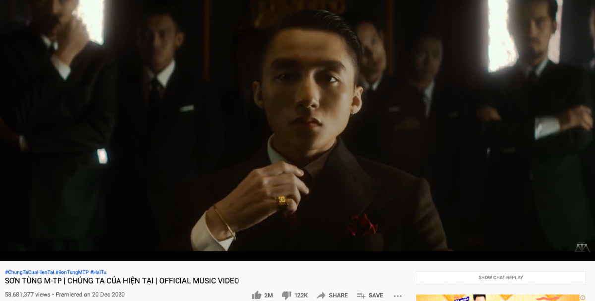 """MV """"Chúng ta của hiện tại"""" nhận về hơn120.000lượt dislike."""