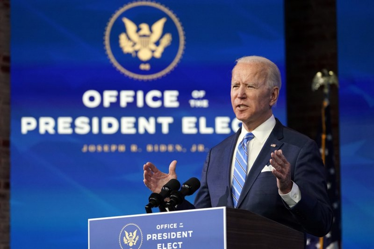 Tổng thống Mỹ Joe Biden. Ảnh: AP News.