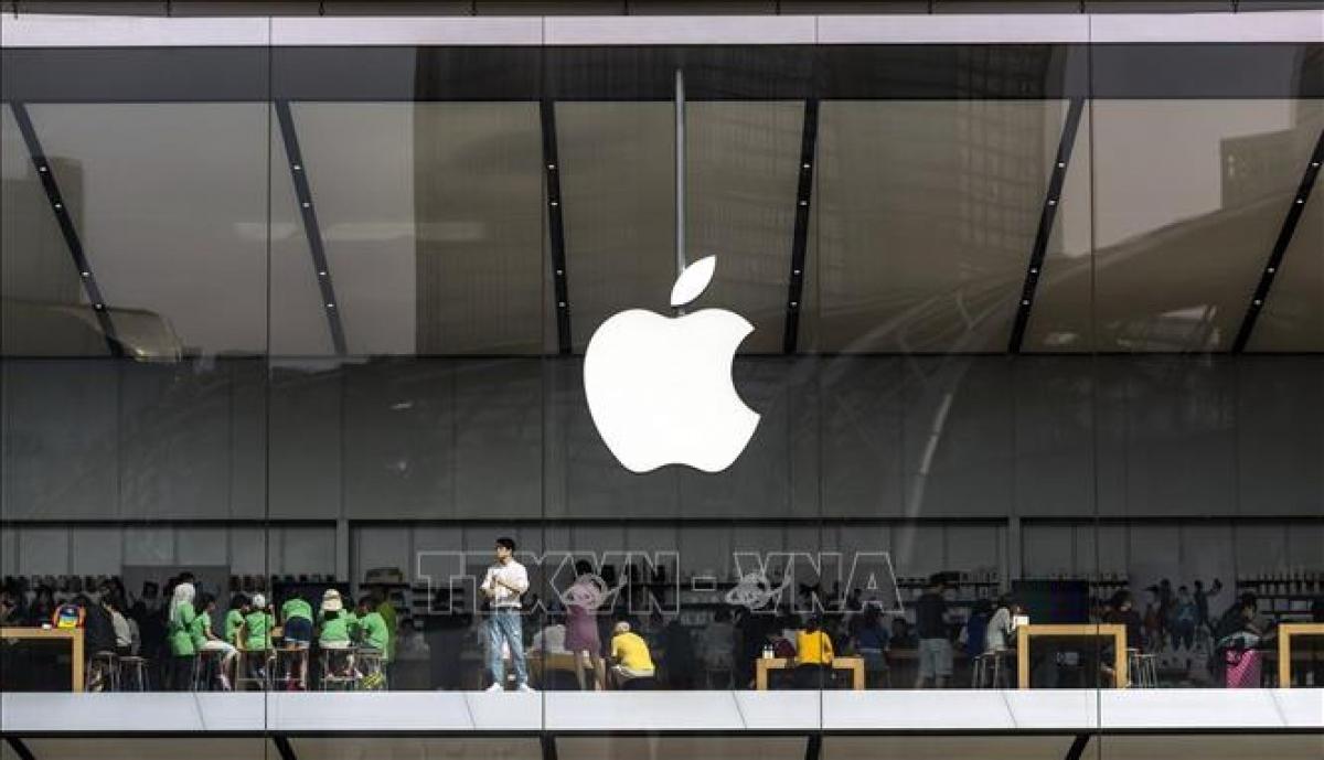 Apple, Facebook đạt kỷ lục doanh thu trong mùa dịch (Ảnh: TTXVN)