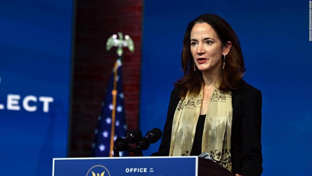 Thượng viện Mỹ đã chuẩn thuận bà Avril Haines làm Giám đốc Tình báo quốc gia Mỹ. Ảnh: CNN