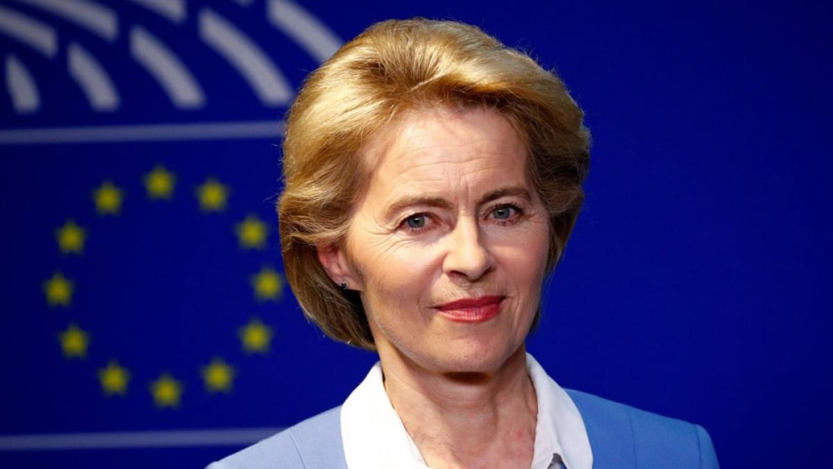 Bà Ursula von der Leyen. (Ảnh: Reuters)