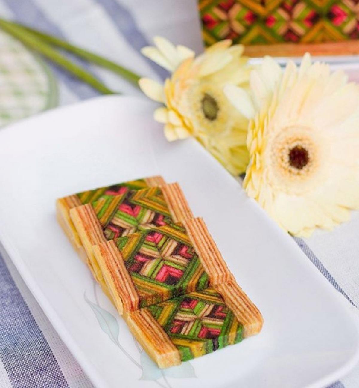 Kek Lapis Sarawak xuất hiện trong nhiều dịp lễ hội của Malaysia, trong đó có cả Tết cổ truyền./.