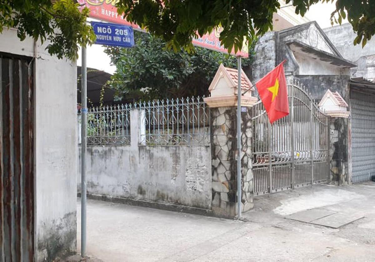 Cơ quan điều tra VKSND Tối cao đã khám xét nơi ở của nguyên thiếu tá Nguyễn Hữu Cường tại ngõ 205 Nguyễn Hữu Cầu (quận Đồ Sơn)