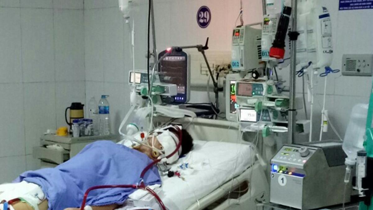 Bệnh viện Đa khoa Sóc Trăng cứu thành công bệnh nhân bị choáng tim, suy hô hấp, suy đa cơ quan do viêm cơ tim cấp (Ảnh: BV cung cấp)