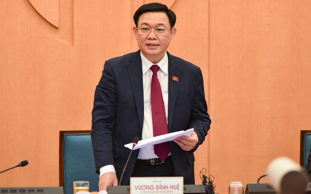 Bí thư Thành ủy Vương Đình Huệ yêu cầu công tác phòng chống dịch Covid-19 phải nhanh, nhạy bén hơn