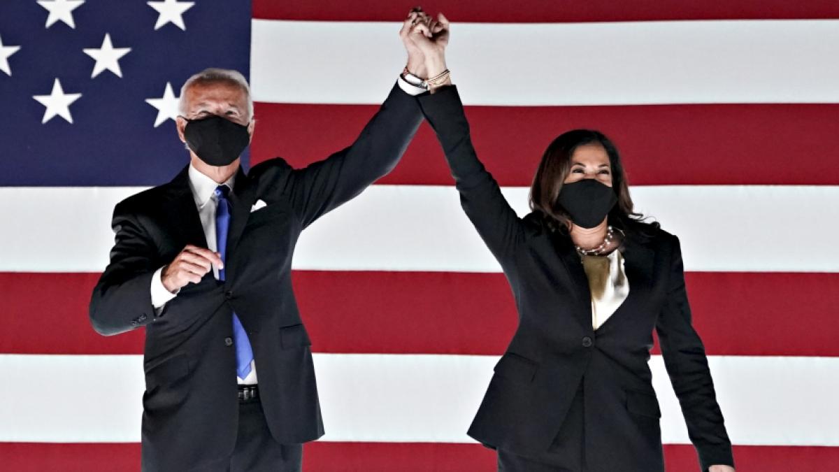 Quốc hội Mỹ xác nhận chiến thắng của Joe Biden. Ảnh: Getty