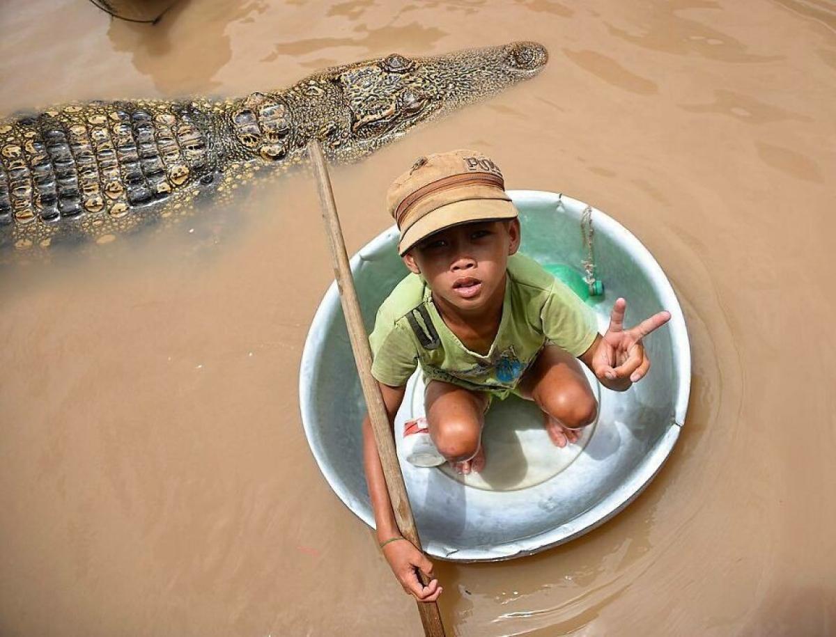 Tuổi thơ dữ dội của cậu bé ở Campuchia.