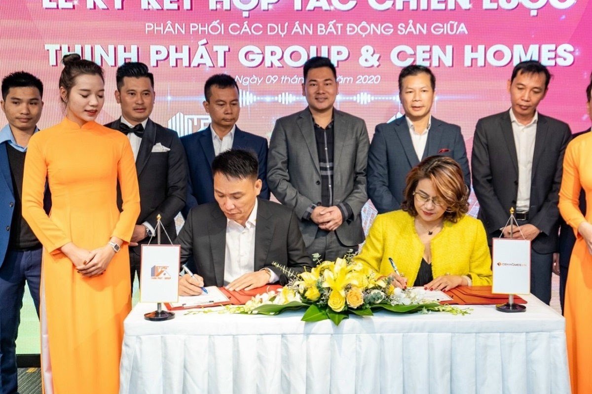 Lễ ký kết hợp tác chiến lược giữa Thịnh Phát Group và Cen Homes
