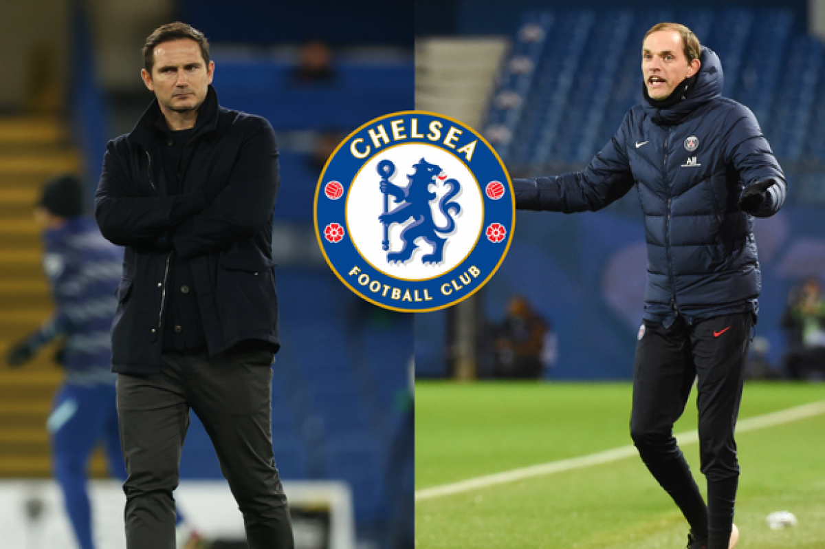 Chelsea sa thải Frank Lampard, bổ nhiệm Thomas Tuchel? (Ảnh: The Sun)