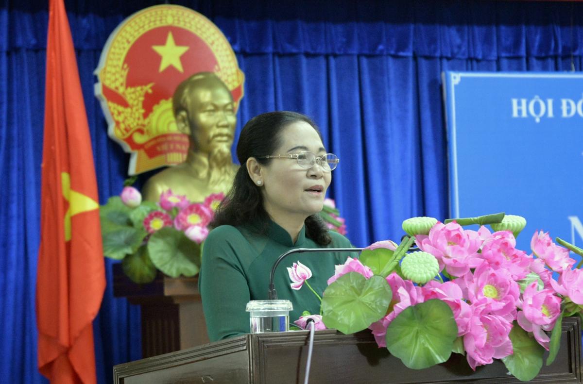 Chủ tịch HĐND TPHCM Nguyễn Thị Lệ.
