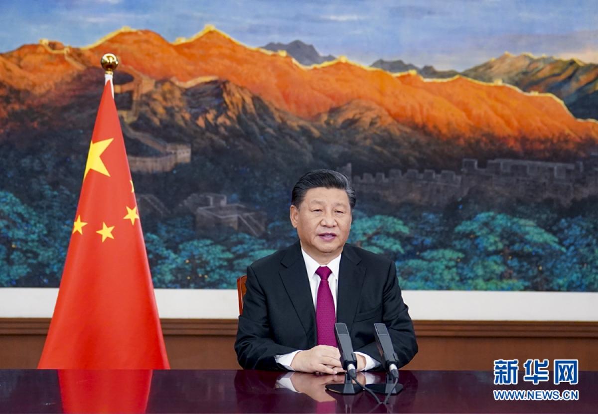 Chủ tịch Trung Quốc Tập Cận Bình. Ảnh: Tân Hoa xã.